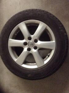 Toyota Rav4 mags with Summer tires 225/65/17