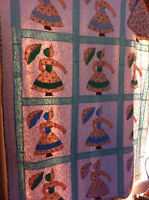 1950's Hand Made Quilts