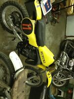 1981 Suzuki rm 80 ans Yamaha 125 i think parts or resto