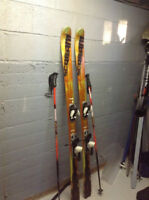 Adult downhill skis for sale