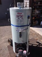 Giant oil fired water heater - used 2 years