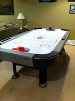 Air Hockey, Trundle Bed w Mattress,Dining Room Table and chairs