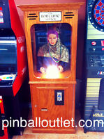 Gypsy Fortune Teller Classic Arcade Carnival Coin Game Cards