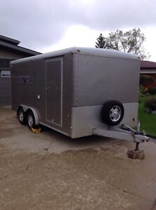 WELLS CARGO ENCLOSED (16' X 8') REDUCED !!