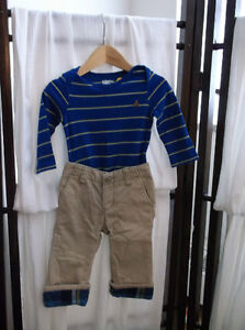 Like New Gap Boys Onesie 3-6 mths