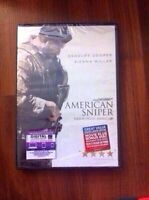 Brand new American sniper DVD and blue ray