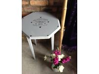 Shabby Chic Occasional Octagonal Table