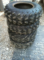 USED Dunlop ATV tires