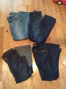 Girls Name Brand Jeans Size 10-14
