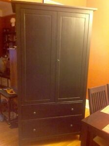Coffee colour, wood armoire Kitchener / Waterloo Kitchener Area image 1