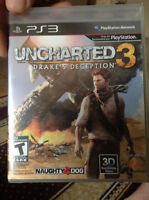 Uncharted 3 PS3 Game - BNIP