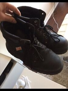 Mens steel toe boots for sale!