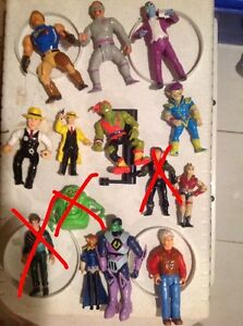 Toys from the 90's random figures