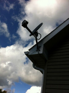 TV satellite sales, installation, and service (all types)