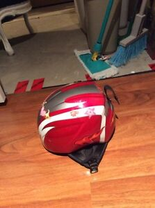 2 KIDS HELMETS WITH GOGGLES London Ontario image 1