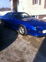 I have a 1992 camaro, trade for boat package.