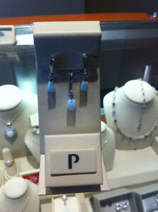 Peoples Opal and Diamond Necklace and Earring set Campbell River Comox Valley Area image 8