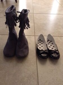 Gymboree size 2 boots and shoes $10 each