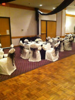 Black and Ivory Table Linens