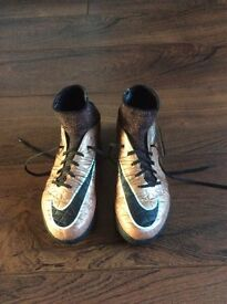 Nike Astro Football Sock Boots - Size 4