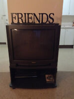 Panasonic TV comes with Toshiba DVD and VCR and the stand (OBO)