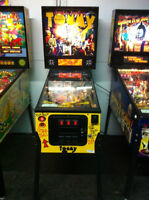 The Who's Tommy Pinball Wizard 1994 Data East Arcade Machine