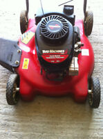 """for sale: yard machines 20"""" push mower"""