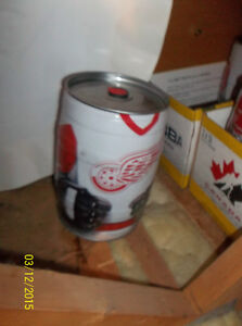 2002 Red Wing NHL Bubba Can with Signage + Other Bubbas Windsor Region Ontario image 2