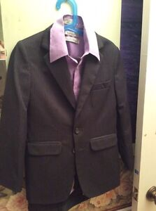 Boys 2pc suit and shirt Kitchener / Waterloo Kitchener Area image 1