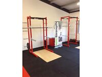 Half rack squat rack