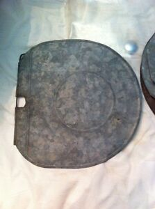 Vintage/Antique sap bucket lids. Some are 100 plus yrs old Cornwall Ontario image 1