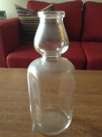 1953 VINTAGE MILK BOTTLE