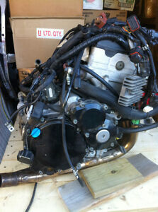 SUZUKI GSXR600 2002 COMPLETE ENGINE WITH YOSH HEADERS AND EL HAR