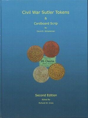 Civil War Sutler token Book Second Edition by Dave Schenkman new Rarities Prices