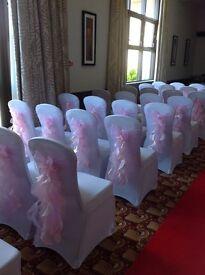 100 baby pink sashes