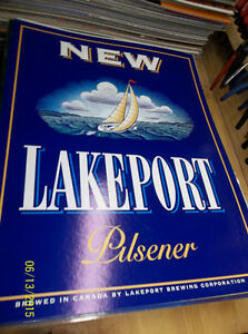 Rare-Lakeport Pilsner beer sign Windsor Region Ontario image 1
