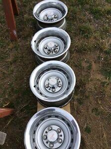 Truck rally wheels