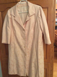 HAUTE COUTURE SPRING COAT FOR WEDDING OR OTHER SPECIAL OUTINGS