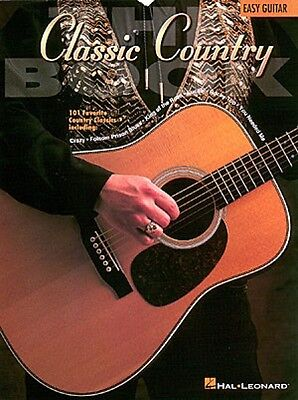 The Classic Country Book Sheet Music Easy Guitar NEW 000702018