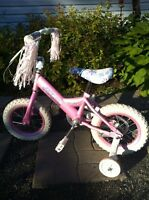 "12"" Girl's toddler bike"
