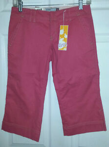 OLD NAVY Pink Stretch Capris Pants - Size 0 - NEW Gatineau Ottawa / Gatineau Area image 3