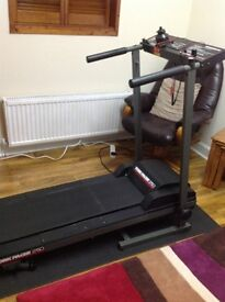 Urgent for Sale Foldaway Treadmill York Pacer 2750