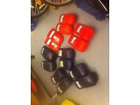 7 pairs martial arts sparring gloves