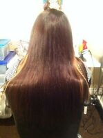 Affordable Rimy hair extension @780-298-3525