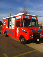 Ice cream truck for your event