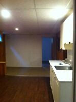 Basement apartment available Sept 1