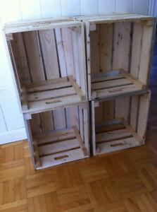 caisse de bois acheter et vendre dans grand montr al. Black Bedroom Furniture Sets. Home Design Ideas