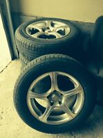 SPORTS RIMS & TIRES !!** NEW PRICE !!** IN MINT CONDITION !!