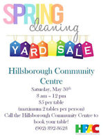 Large Community Yard Sale! May 30th