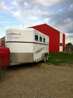 Trails West 3 Horse Trailer